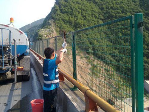 河南桥梁防眩网示例